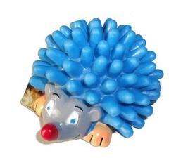 TRIXIE Игрушка-ежик для собак пищащий D-8,5см