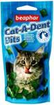 Beaphar Cat-A-Dent Bits Подушечки для чистки зубов у кошек 35г*75шт