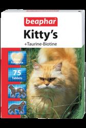 Beaphar Kittys Витамины для кошек Сердечки Таурин+Биотин