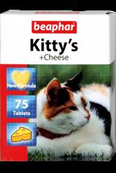 Beaphar Kittys Cheese Витамины для кошек с сыром
