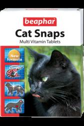 Beaphar Cat Snaps Витамины для кошек 75таб