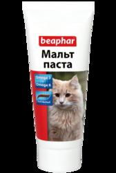 Beaphar Malt Paste Паста для вывода шерсти из желудка