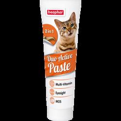 Beaphar Duo Active Pasta Мультивитаминная паста для кошек 100г