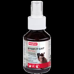 Beaphar Katzen-Fernhalte-Zerstauber Спрей для кошек отпугивающий 100мл