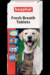 Beaphar Fresh Breath Tablets таблетки для собак и кошек от неприятного запаха из пасти 40таб