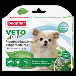 Beaphar БиоКапли для собак мелких пород < 15кг от блох и клещей 3 пипетки
