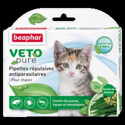 Beaphar БиоКапли для котят от блох и клещей 3 пипетки
