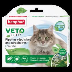 Beaphar БиоКапли для кошек от блох и клещей 3 пипетки