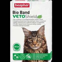 Beaphar Bio Band ошейник для кошек и котят от блох, клещей, комаров 35см