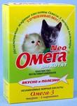 Омега Neo Лакомство для котят Таурин/L-карнитин 60табх5шт