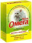 Омега Neo Лакомство для кошек Биотин/Таурин 90табх5шт
