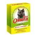 Омега Neo Лакомство для кошек Протеин/L-карнитин 90табх5шт