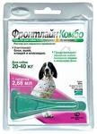 Frontline Фронтлайн КОМБО L Капли для собак 20-40кг от блох и клещей 2,68мл