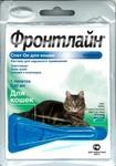 Frontline Фронтлайн Спот Он Капли для кошек от блох и клещей 0,5мл*1пипетка