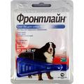 Frontline Фронтлайн Спот Он ХL Капли для собак 40-60кг от блох и клещей 4,02мл*1пипетка