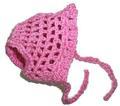 Панамка для собак розовая, размер S