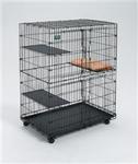 "MidWest Клетка для кошек ""Cat Cage"" 91.4х58.5х127м черная"