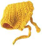 Панамка для собак желтая, размер XS
