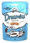 Dreamies Лакомые подушечки с лососем для кошек