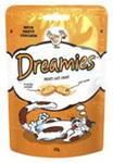 Dreamies Лакомые подушечки с курицей для кошек