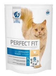 Перфект Фит Для домашних кошек Курица, сух.