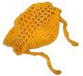 Панамка для собак желтая, размер М