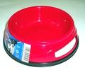 TRIXIE Миска пластмассовая с резинкой, 0,3л/d12см