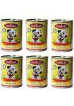 Berkley(Беркли) Консервы для собак Ягненок с рисом 400г х 6шт