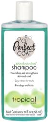 8 in 1 Шампунь для кошек и собак PC Shed Control & Hairball против линьки и колтунов с тропическим ароматом, 295 мл