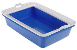 """MPS Туалет-лоток для кошек """"HYDRA MINI"""" 43х31х12см синий"""
