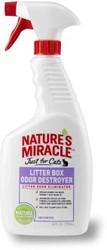 8 in 1 Средство для устранения запаха в кошачьем туалете NM Litter Box Odor Destroyer спрей 710 мл