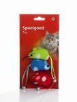 Beeztees Игрушка для кошек «Мышь с колокольчиком на хвосте» 5см, 3шт в уп.