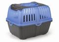 Beeztees Переноска для собак Neyo пластиковая, сине-серая, 30*23*23см