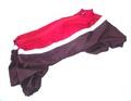 Дождевик красный/баклажан, размер S, модель для девочки