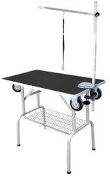 SHOW TECH Грумерский стол SS Trolley Table, 95x55x78см с колесами, черный