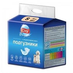 Cliny Подгузники для собак и кошек S 3-6кг 10шт