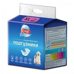 Cliny Подгузники для собак и кошек XL 15-30кг 7шт
