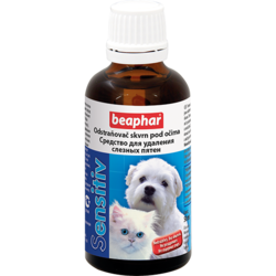 Beaphar Sensitiv Лосьон для удаления слезных пятен у кошек и собак 50мл