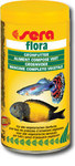 Sera Flora Корм для растительноядных рыб со спирулиной, хлопья 100мл