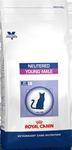 Royal Canin Neutered Young Male для кастрированных котов с момента операции до 7 лет, сух.