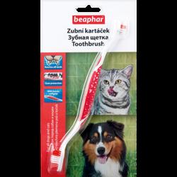 Beaphar Toothbrush Зубная щетка двойная для собак
