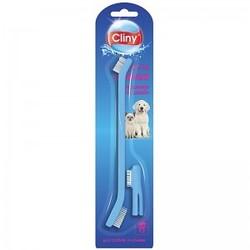 Cliny Зубная щетка + массажер для десен
