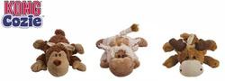 """Kong Игрушка для собак """"Кози Натура"""" плюш, 13см, маленький."""