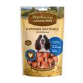 Деревенские лакомства Куриные косточки жевательные 100г для собак
