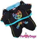 ForMyDogs Комбинезон на синтепоне и шелковой подкладке, модель для мальчиков, размер 8