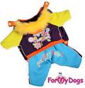 ForMyDogs Комбинезон на меховой подкладке, модель для мальчиков, цвет мультиколор, размер 10