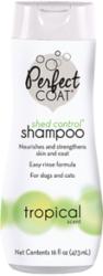 8 in 1 Шампунь для собак PC Shed Control против линьки с тропическим ароматом, 473 мл