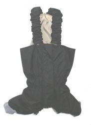 ZooPrestige Брюки для собак, черный цвет, размер S, М, L, плащевка