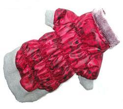 ZooPrestige Куртка для собак на синтепоне, красный цвет, размер М