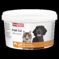 Beaphar Irish Cal Минеральная смесь с содержанием солей кальция 250г